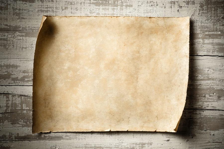 Из истории бумаги